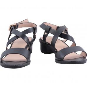 Topshop Black Ankle Strap Sandals