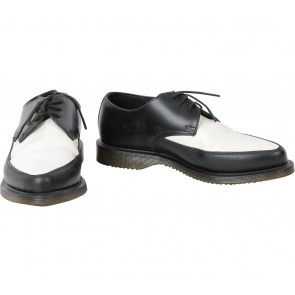 DRMARTENS Black And White Oxford Sneakers