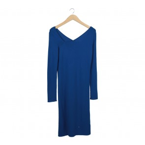 Maison Martin Margiela Blue Midi Dress