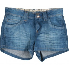 Mango Blue Denim Short Pants