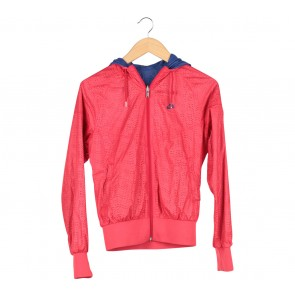 Nike Pink Perforated Reversible Jaket