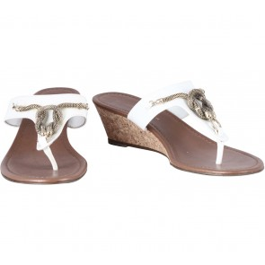 Charles and Keith Off White Sandals