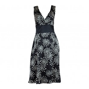 Ted Baker Black And White Midi Dress