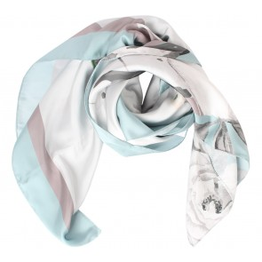 Allura Multi Colour Shabby Chic Scarf