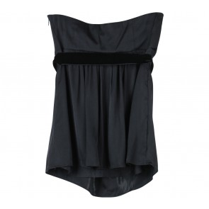 Banana Republic Black Tube Sleeveless