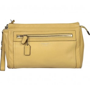 Coach Yellow Clutch