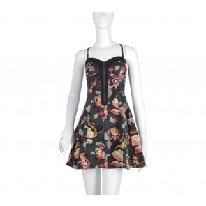 French Connection Multi Colour Floral Mini Dress