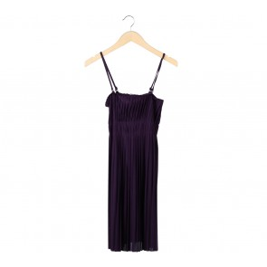Mphosis Purple Mini Dress