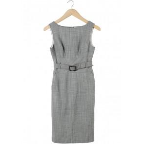 Banana Republic Grey Sleeveless Midi Dress