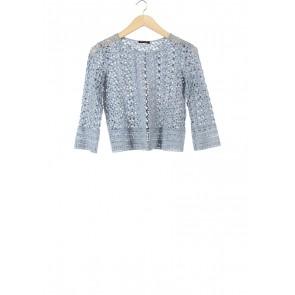 Massimo Dutti Blue Outerwear