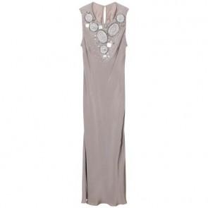 Biyan Grey Midi Dress