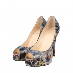 Christian Louboutin Blue Heels