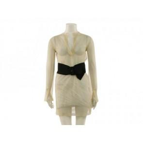 Cline Cream Midi Dress