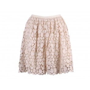 Club Monaco Cream Skirt