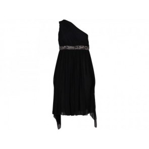 Derek Lam Black Midi Dress