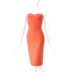 Herve Leger  Midi Dress