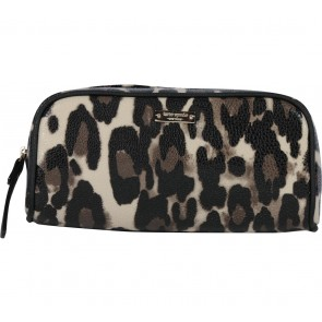 Kate Spade Multi Colour Leopard Pouch