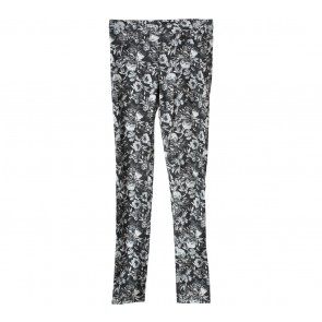 H&M Black Floral Pants