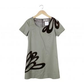 Tutu Green Midi Dress