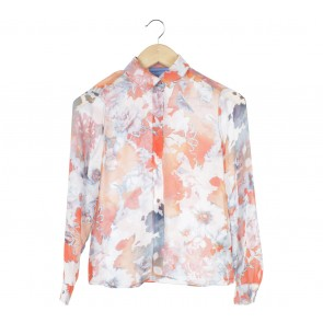Vera Wang Multi Colour Floral Shirt