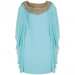 Marchesa Turquoise Shirt