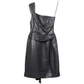 Matthew Williamson Grey Midi Dress