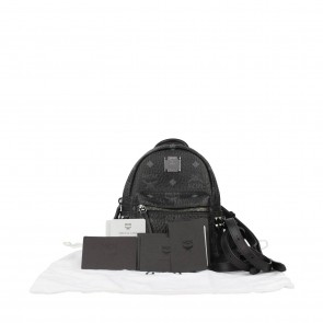 MCM Black Backpack