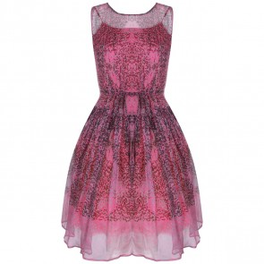 Red Valentino Pink Midi Dress