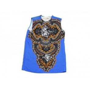 Stella McCartney Blue Sleeveless