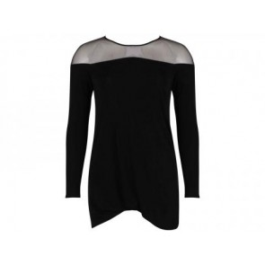 Under.Ligne by doo.ri Black Midi Dress