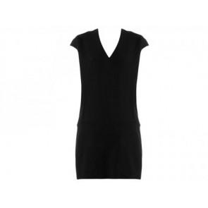 Victoria Beckham Dark Blue Midi Dress