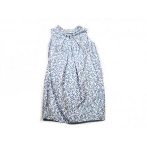 Victoria by Victoria Beckham Blue Midi Dress