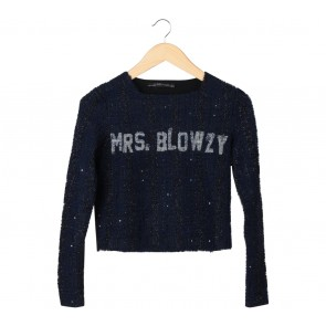 Zara Dark Blue Sweater