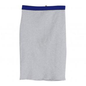 Zara Grey And Blue Skirt