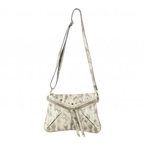Nine West Brown Snakeskin Sling Bag