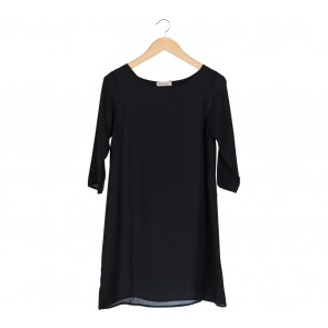 Shop At Velvet Black Mini Dress