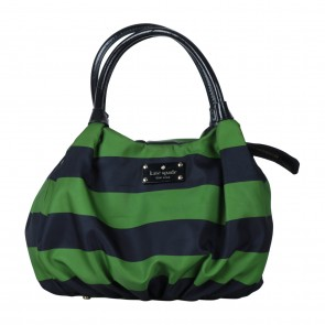 Kate Spade Green And Dark Blue Handbag