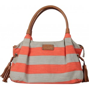 Kate Spade Orange And Brown Handbag