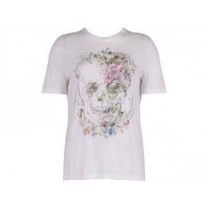 Alexander McQueen White T-Shirt