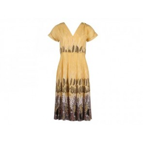 Cacharel Yellow Midi Dress
