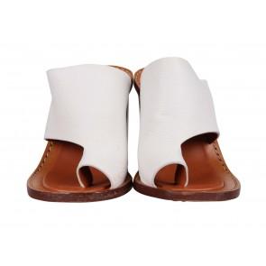 Cline White Heels