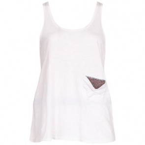 Elizabeth and James Off White Sleeveless