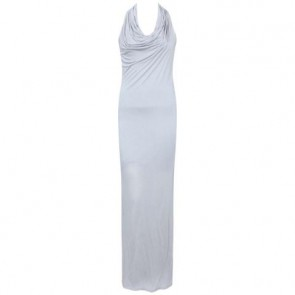 Helmut Lang Grey Midi Dress