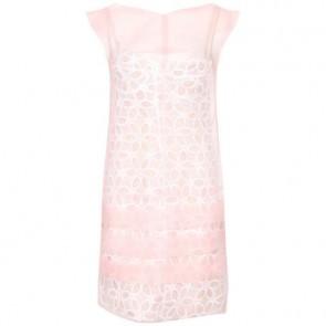 Louis Vuitton Peach Midi Dress