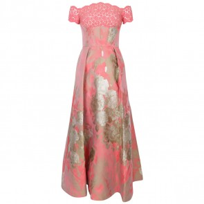 Sebastian Gunawan Red Label Pink Midi Dress