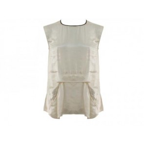 TheoryX White Sleeveless
