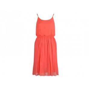 Alice + Olivia Orange Midi Dress