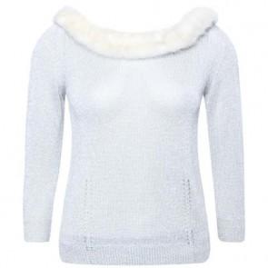 Blugirl Blumarine Silver Sweater
