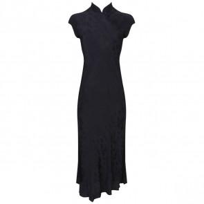 DKNY Black Midi Dress