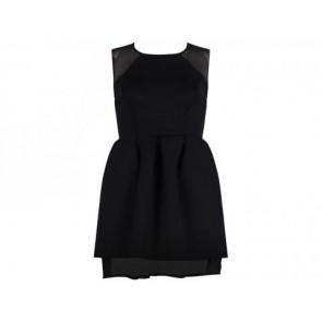 Kaelen Black Midi Dress